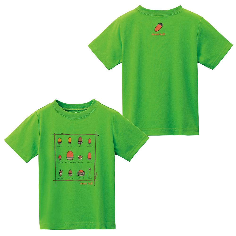 mont-bell Tshirt illustration